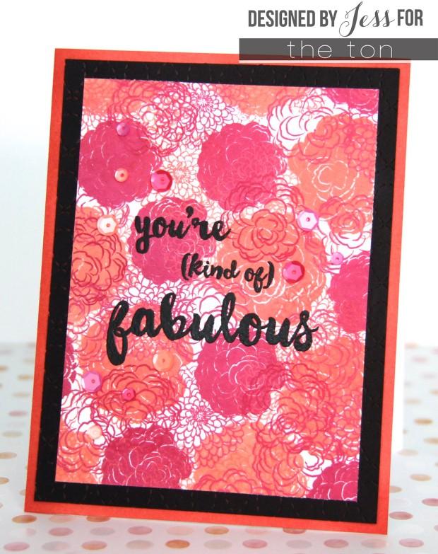 www.allthesparkle.com The Ton Friggin' Fabulous Simple Florals