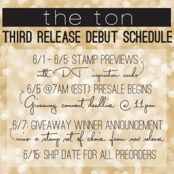 third release sched
