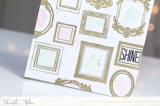 Shine Frames Card - Detail