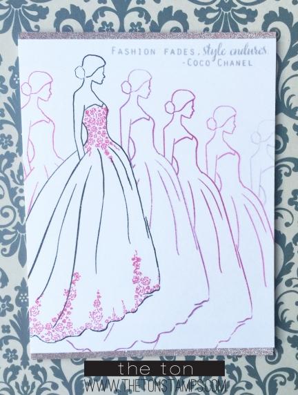 fade dress