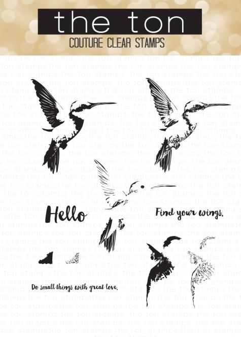 Hello Hummingbird Water