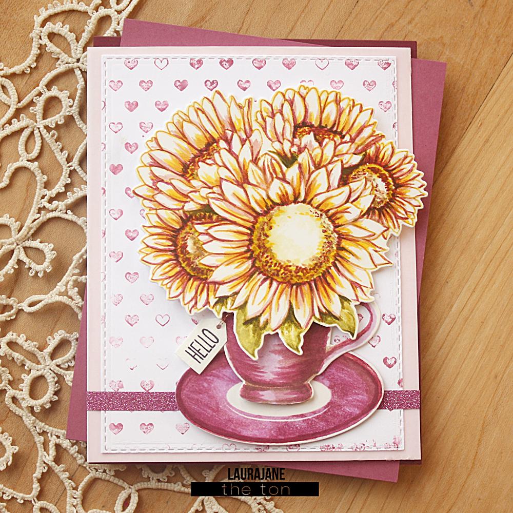 The Ton-Sunflower Bouquet-Tea Party-LauraJane2