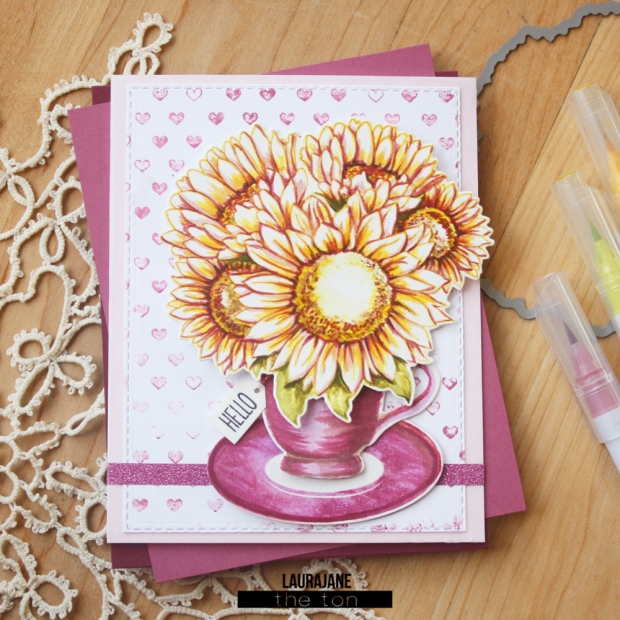 The Ton-Sunflower Bouquet-Tea Party-LauraJane4