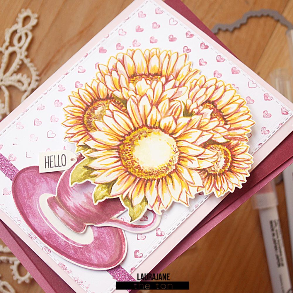 The Ton-Sunflower Bouquet-Tea Party-LauraJane