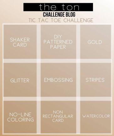 May Challenge Tic Tac Toe