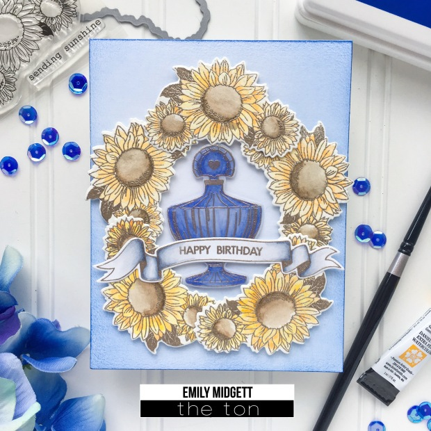 blue perfume WM
