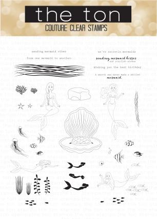 Mermaid Vibes 6x8 water