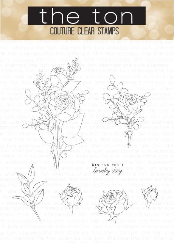 Rose Bouquet 4X6