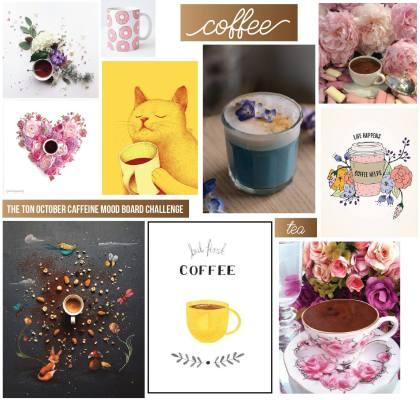 October Caffeine Mood Board