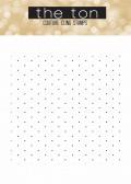 Delicate Polka Dots 6x6 Cilng water