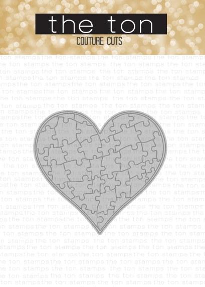 heart jigsaw dies - CUT