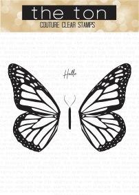 Butterfly Wings - Monarch water
