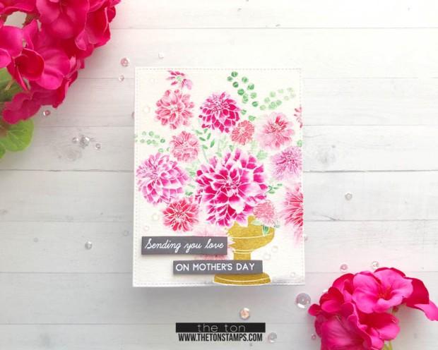 dahlia bouquet cb