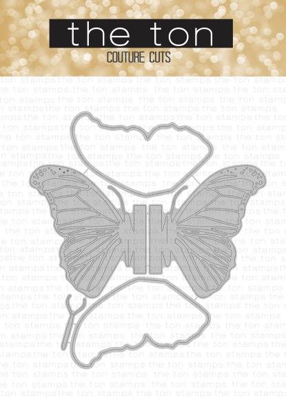 Pop Up Butterfly - Morpho Dies water