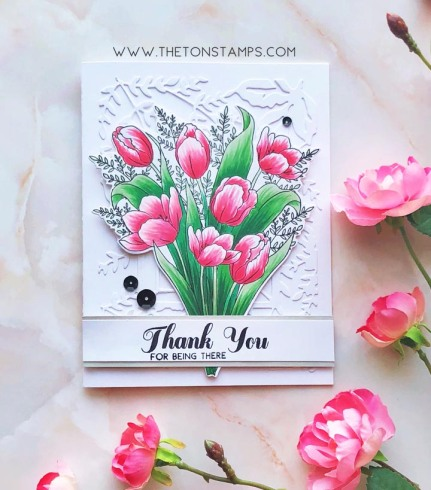 tulip bouquet copics